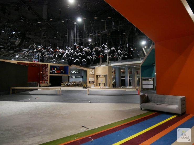 Mondial 2018 Demontage La Maison Citroen 85