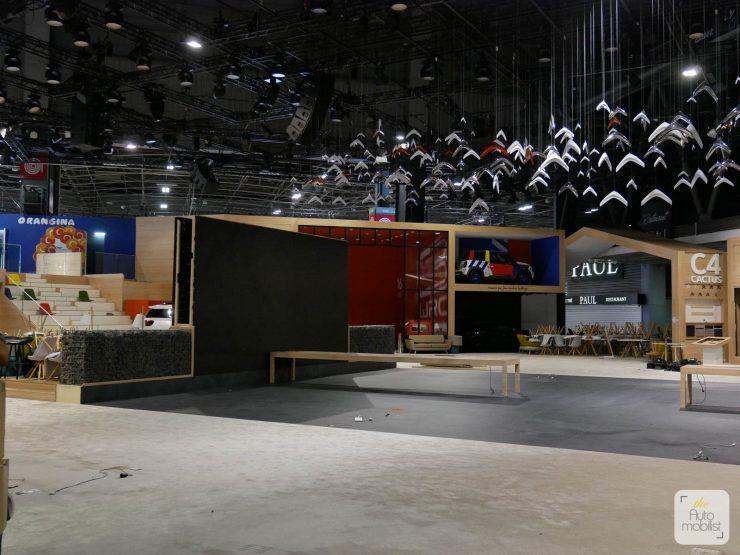 Mondial 2018 Demontage La Maison Citroen 87