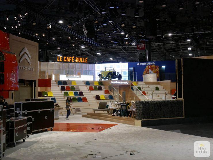 Mondial 2018 Demontage La Maison Citroen 89