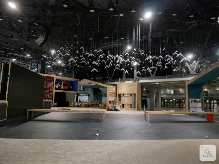 Mondial 2018 Demontage La Maison Citroen 94