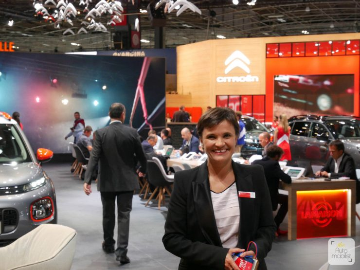 Mondial 2018 La Maison Citroen Sophie Jaguelin 05