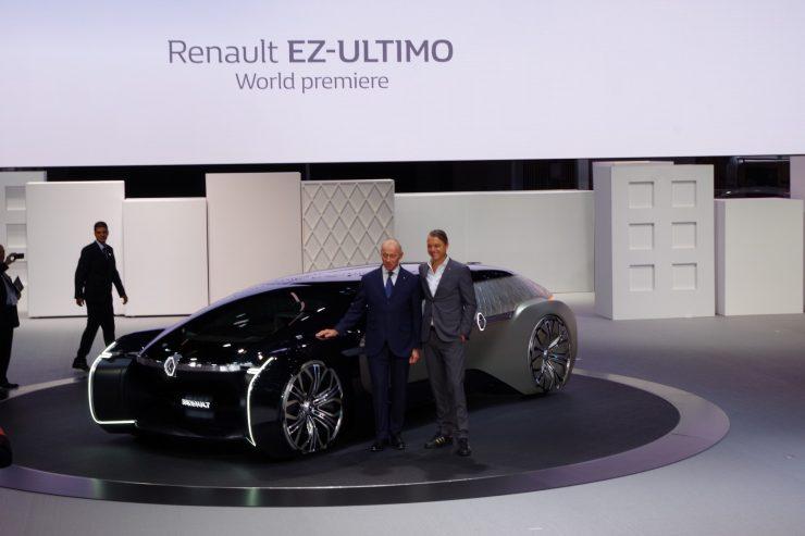 Renault EZ Ultimo Mondial 2018 concept 42