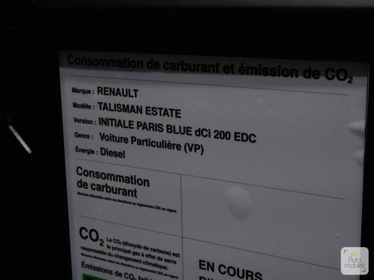 Renault Talisman Estate Blue DCi 200 02