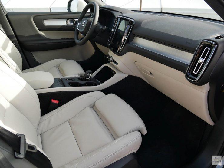 2018 Volvo XC40 Interieur Planche de Bord 003 1