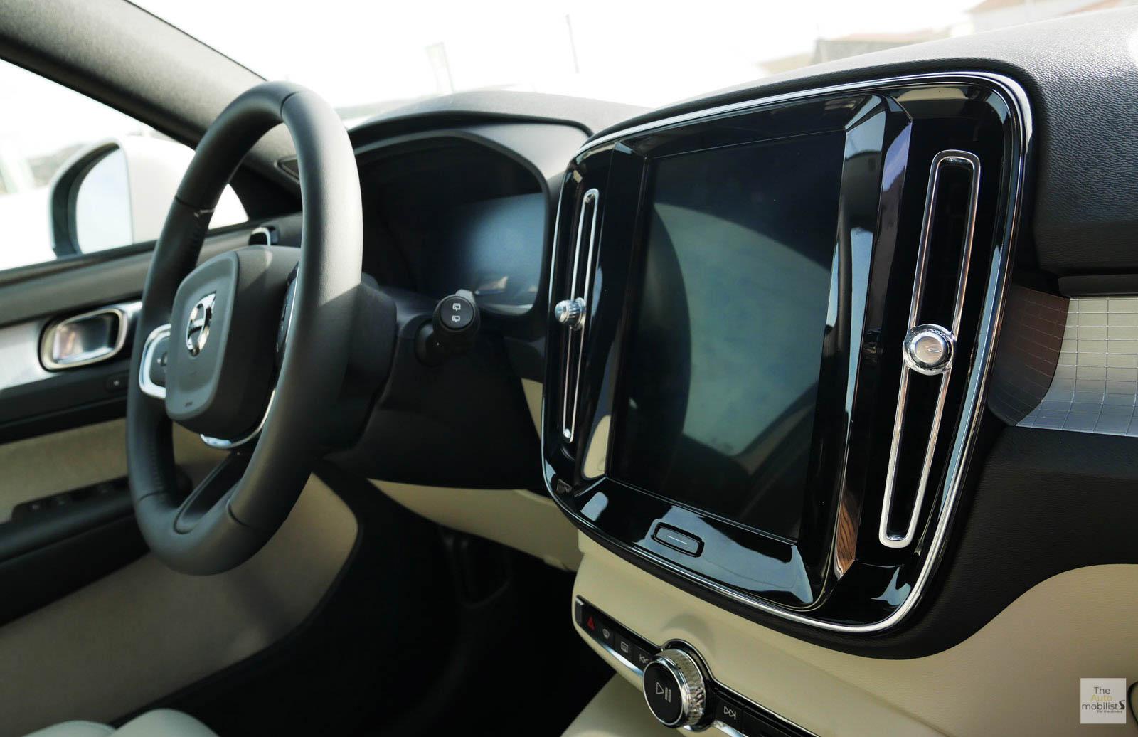 2018 Volvo XC40 Interieur Planche de Bord Detail 011 1