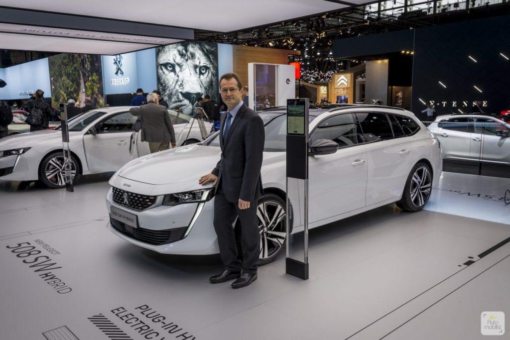 Mondial de Paris 2018 Peugeot itw Olivier Salvat 2 e1543962167825