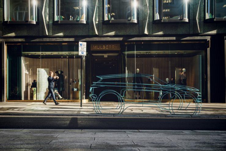 Range Rover Evoque 2 teasers sculptures