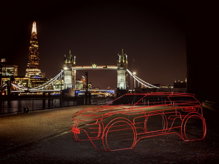 Range Rover Evoque 2 teasers sculptures 05
