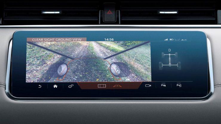 Range Rover Evoque Clear Sight Ground View