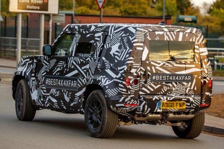 Land Rover Defender 2020 3