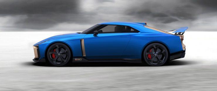 Nissan GT R50 Italdesign production 4