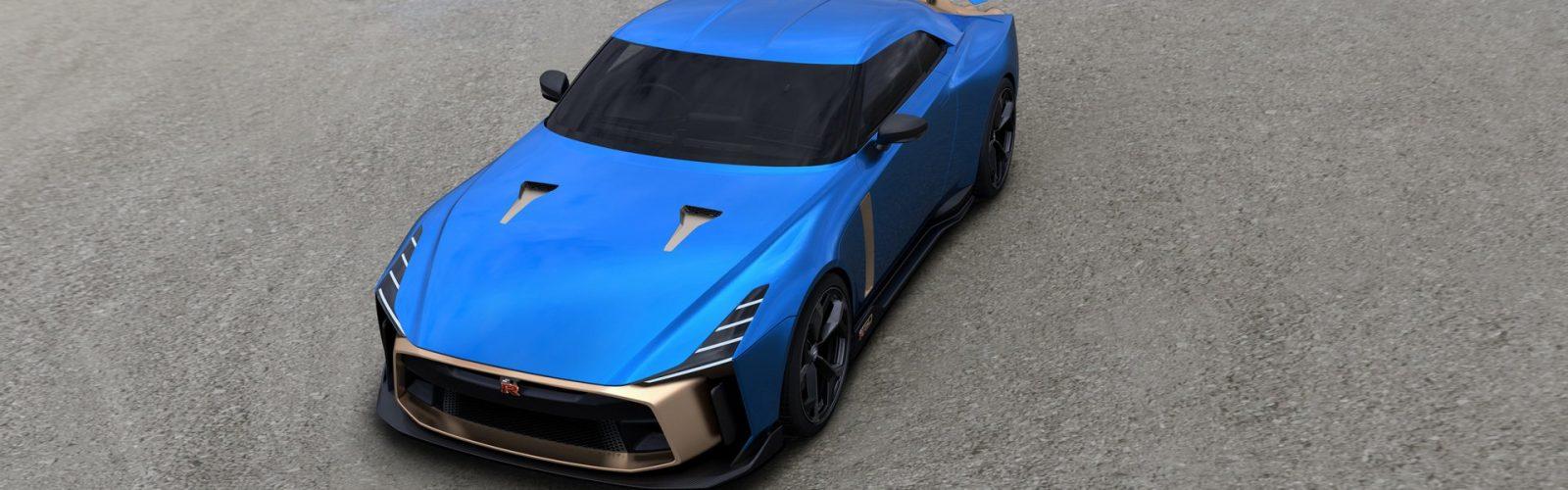 Nissan GT R50 Italdesign production 5