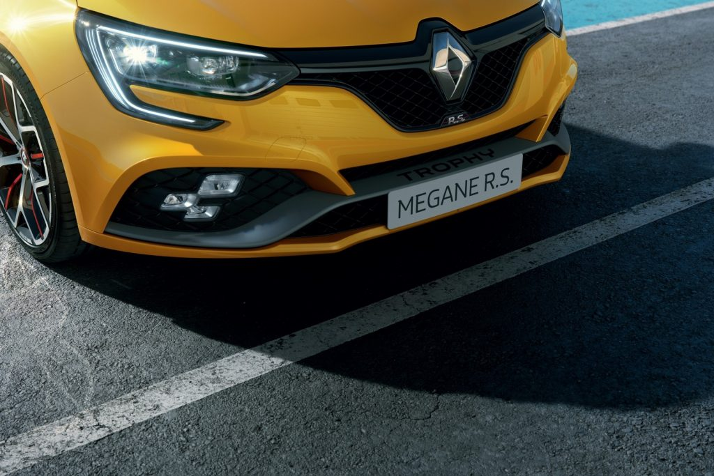 Renault Megane RS Trophy tarification