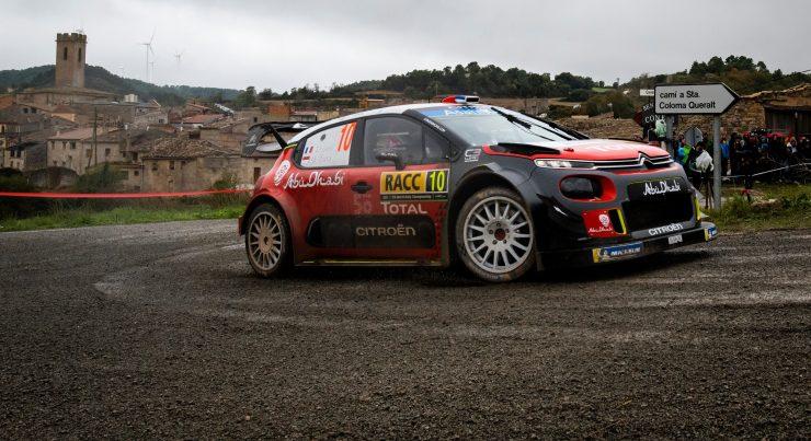 WRC Rallye Espagne Catalogne 2018 Sebastien Loeb
