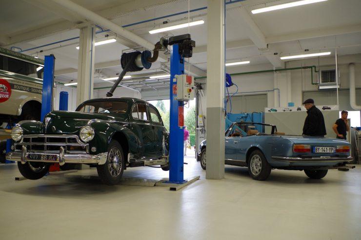 Ateliers du musee Peugeot TA FM 12