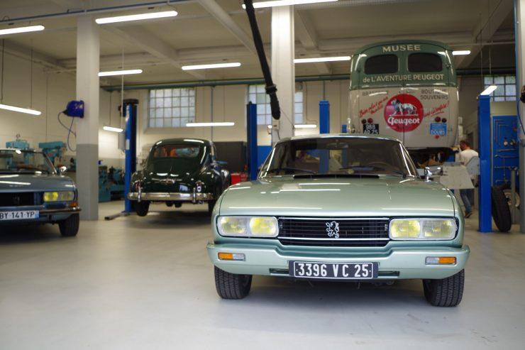 Ateliers du musee Peugeot TA FM 14