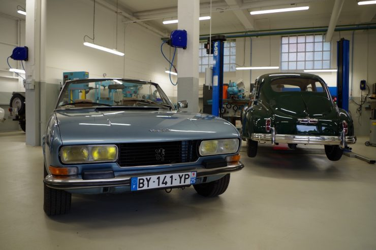Ateliers du musee Peugeot TA FM 17