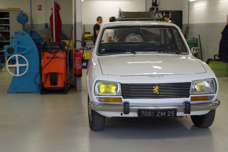 Ateliers du musee Peugeot TA FM 18