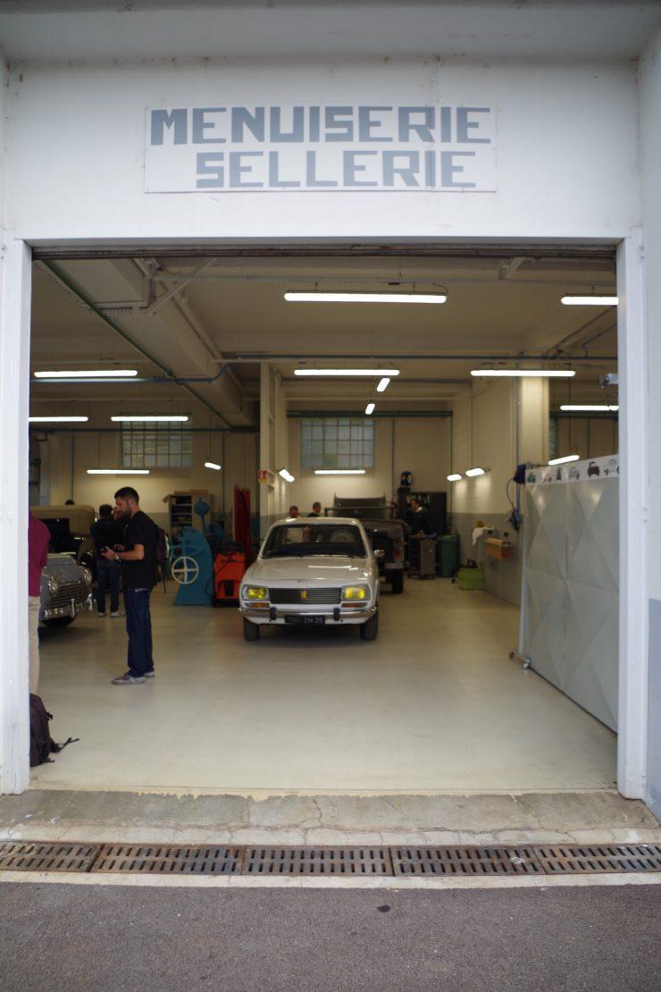 Ateliers du musee Peugeot TA FM 20