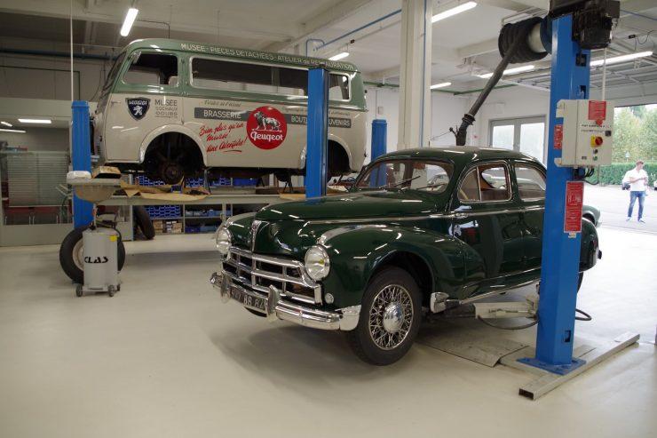 Ateliers du musee Peugeot TA FM 26