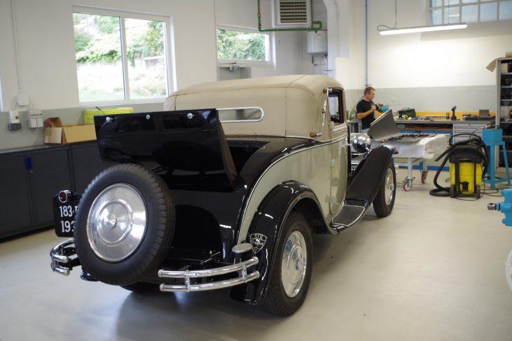 Ateliers du musee Peugeot TA FM 3