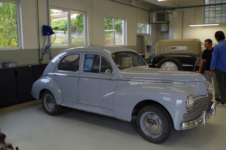 Ateliers du musee Peugeot TA FM 30