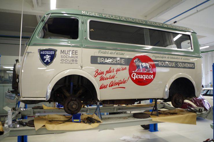 Ateliers du musee Peugeot TA FM 38