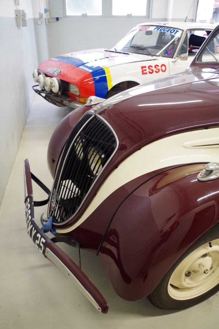 Ateliers du musee Peugeot TA FM 40
