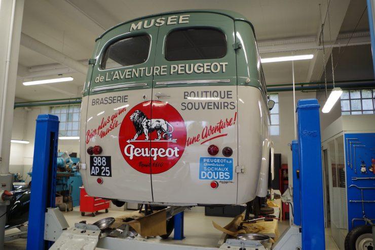 Ateliers du musee Peugeot TA FM 42