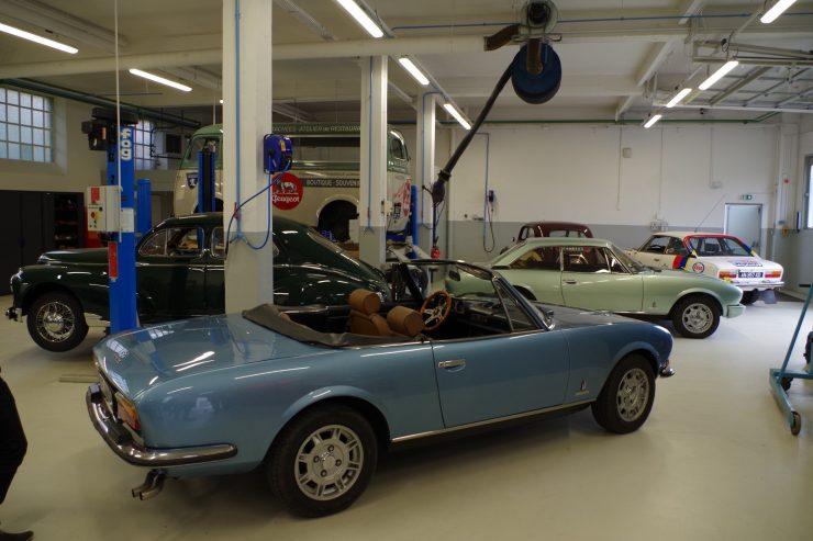 Ateliers du musee Peugeot TA FM 5