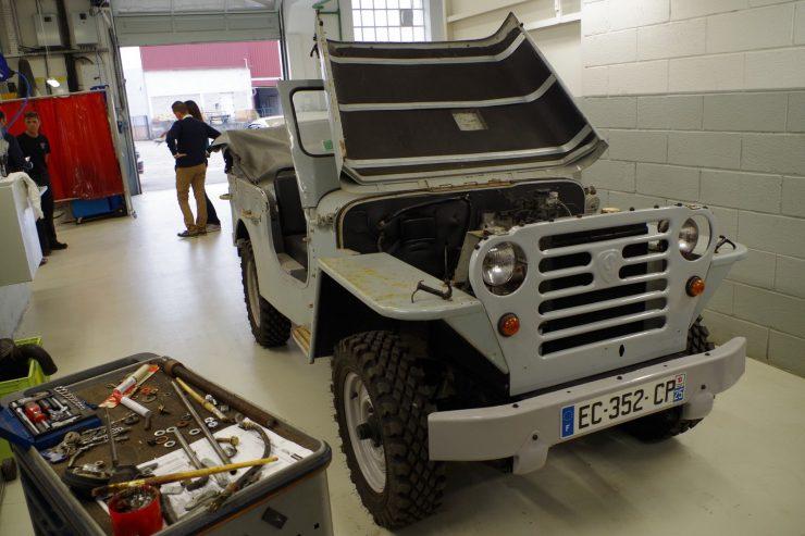 Ateliers du musee Peugeot TA FM 7