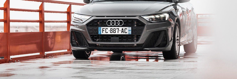 Essai Audi A1 30 TFSI S Line detail face avant