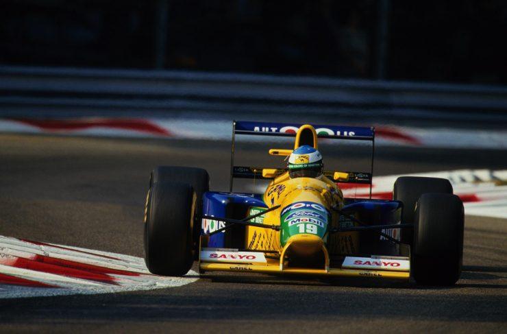 Michael Schumacher Benetton