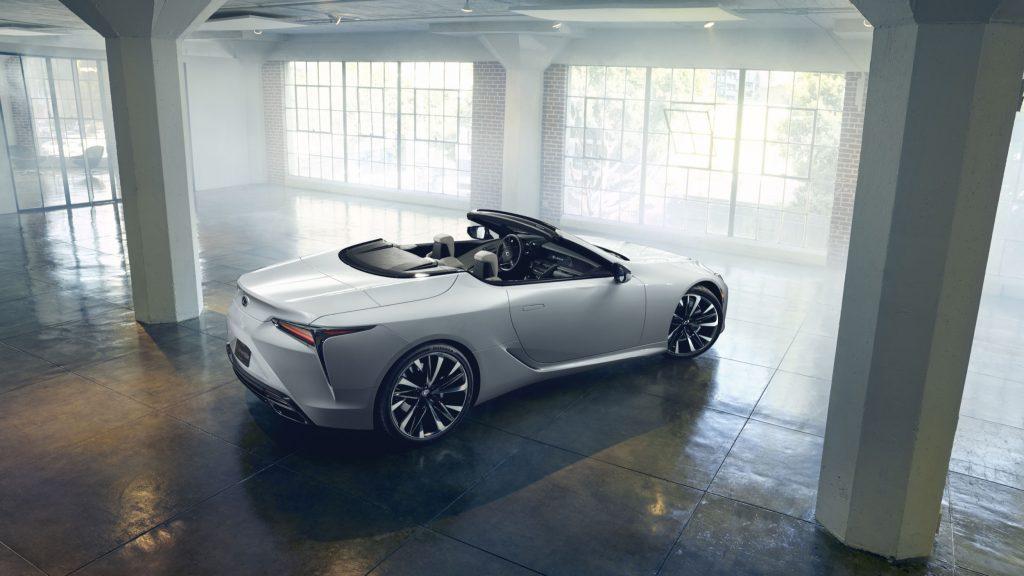 Lexus LC Convertible Concept 2019