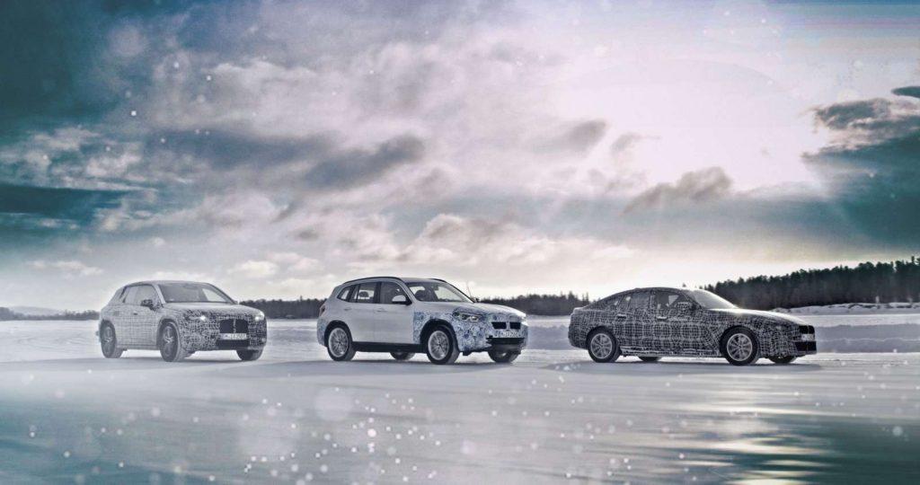 BMW electriques en test Titre