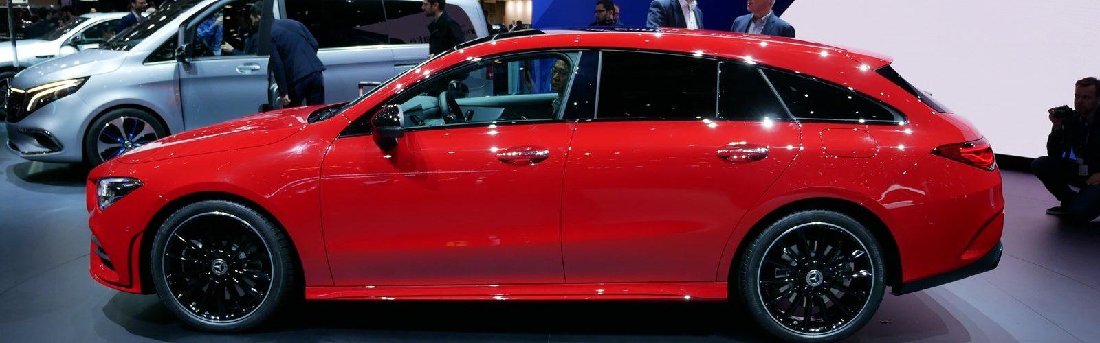 Mercedes Benz CLA Shooting Brake LNA GA Geneva 2019 9