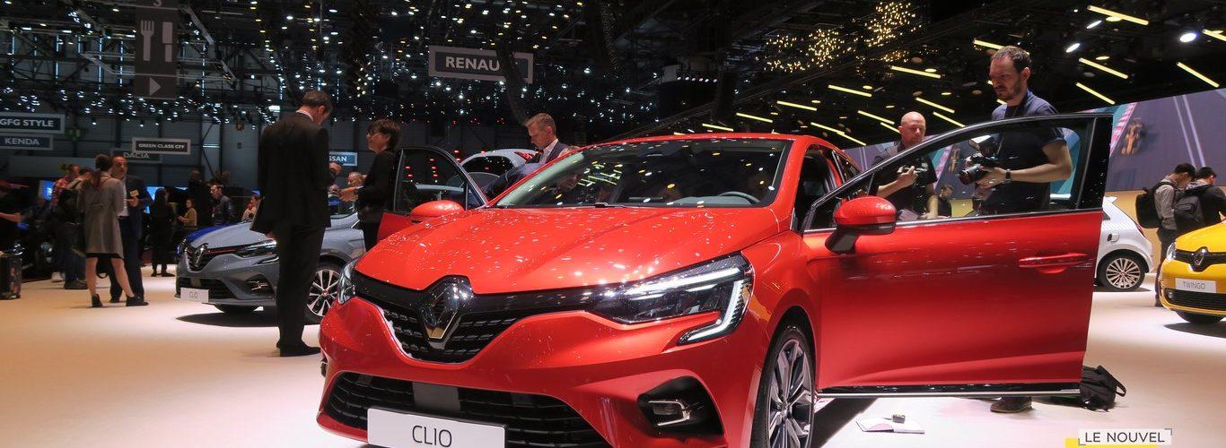 Renault Clio V Geneva 2019 LNA FM 14