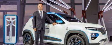 Carlos Ghosn Renault K ZE concept