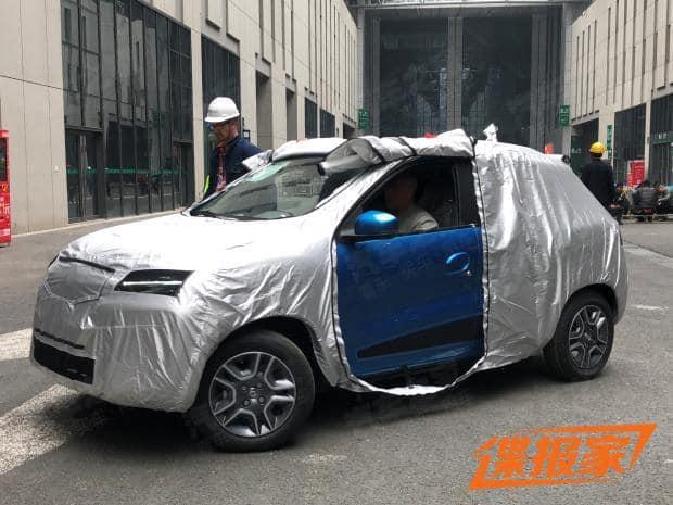 Renault K ZE Kwid electric China 1