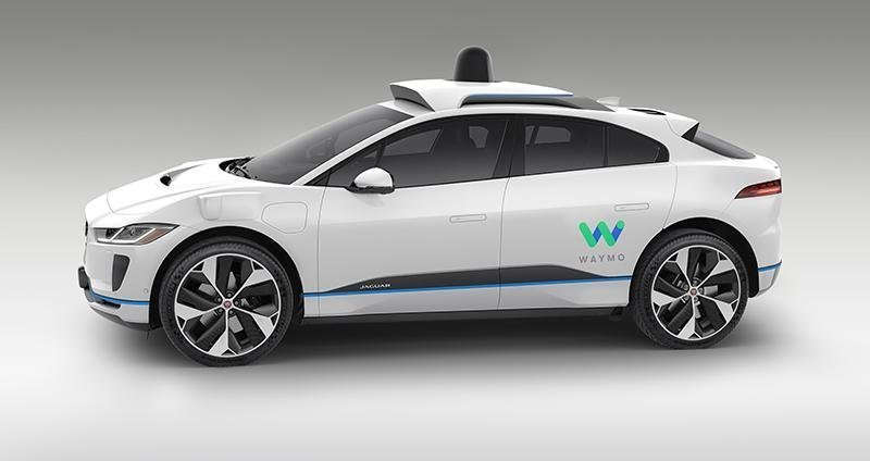 Jaguar I-Pace autonome Waymo