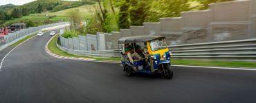 Record Tuk Tuk Nürburgring Le Nouvel Automobiliste