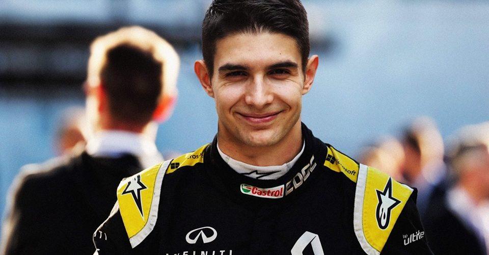 Esteban Ocon Renault F1 Team