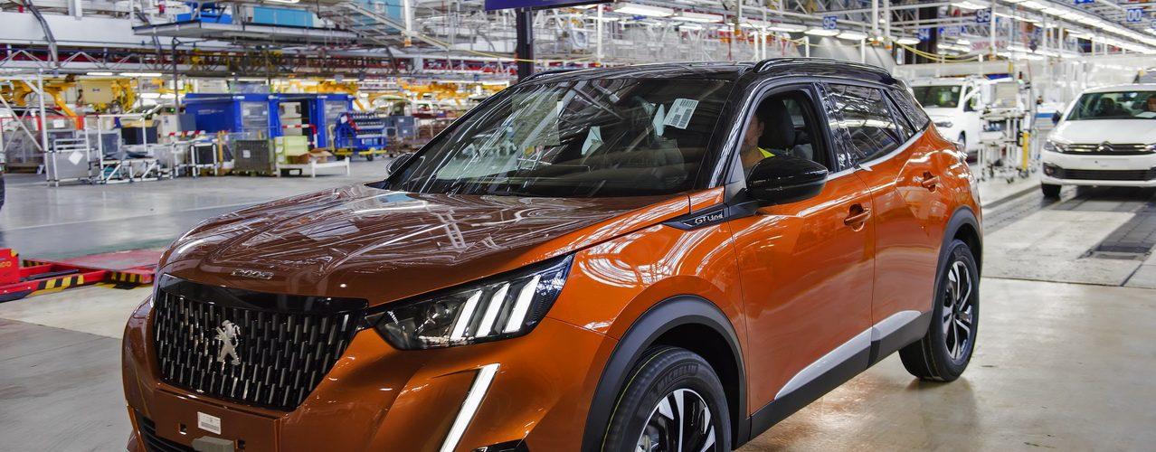 Peugeot 2008 Vigo usine production 2