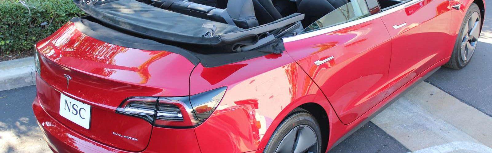 Tesla Model 3 Cabriolet NCE