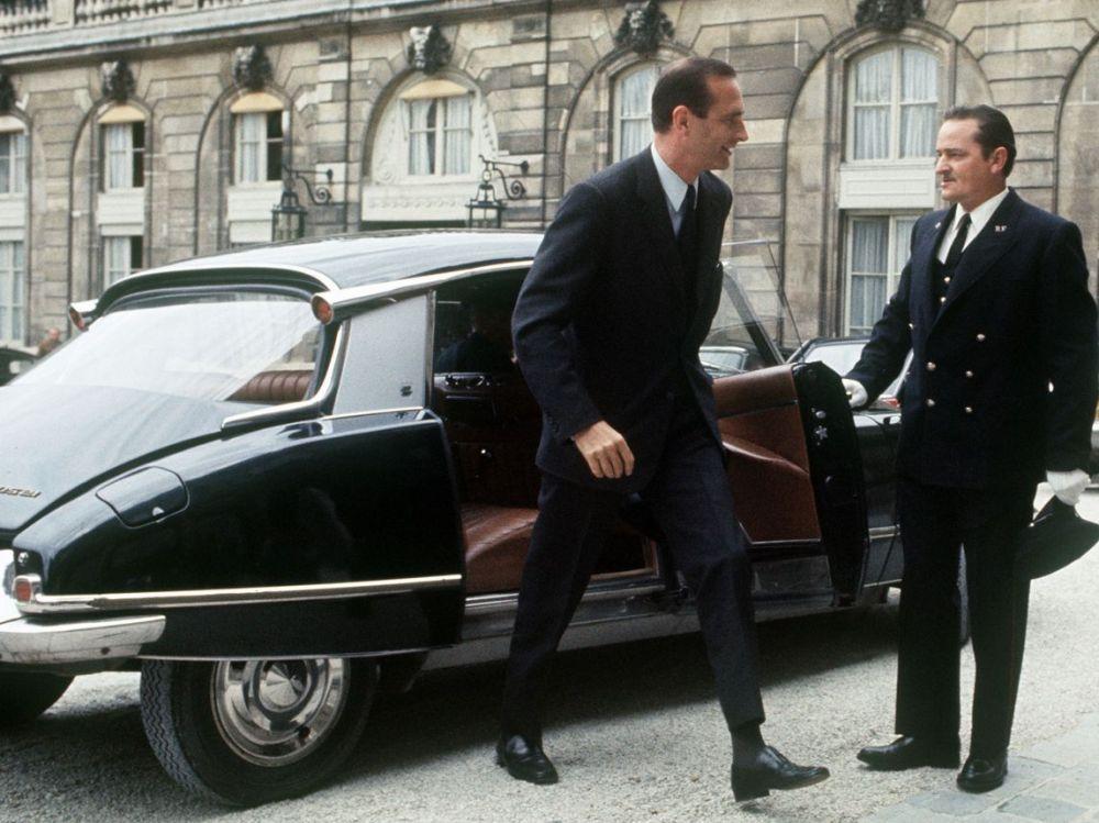 Chirac DS Citroen Elysee