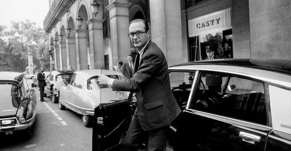 Chirac DS UDR 6 octobre 1974 Paris