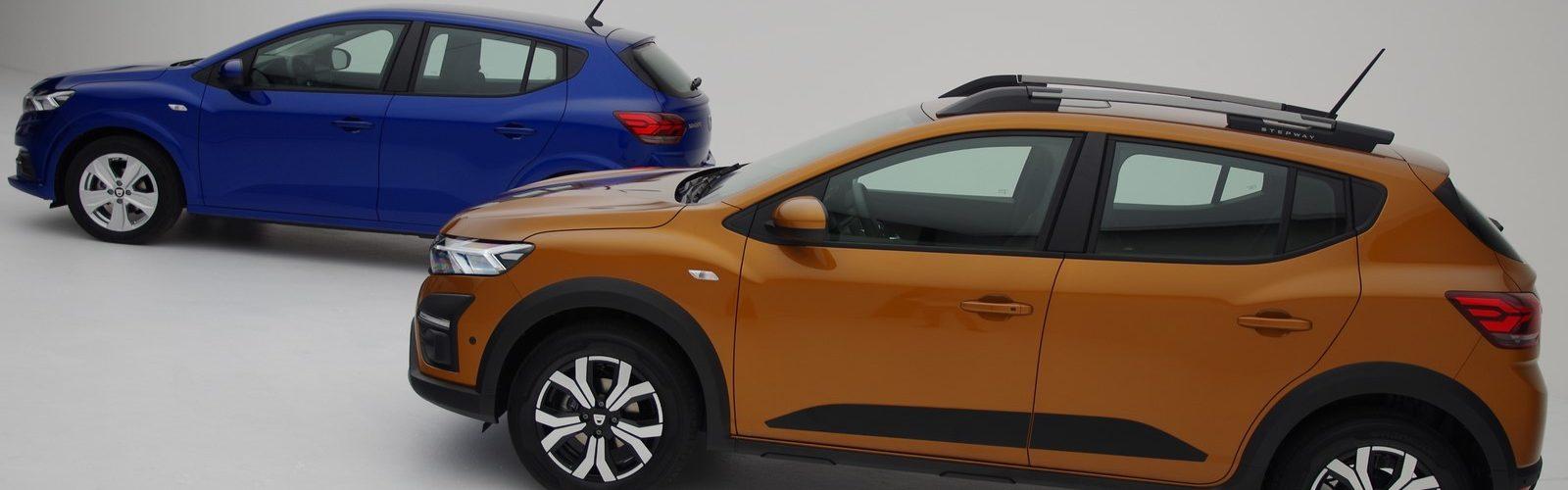 Dacia Sandero et Dacia Sandero Stepway