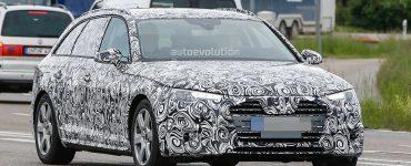 Audi A4 2015 scoop