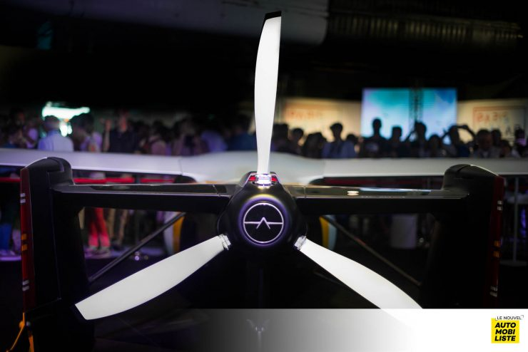 Aeromobil 4.0 salon du Bourget 2017
