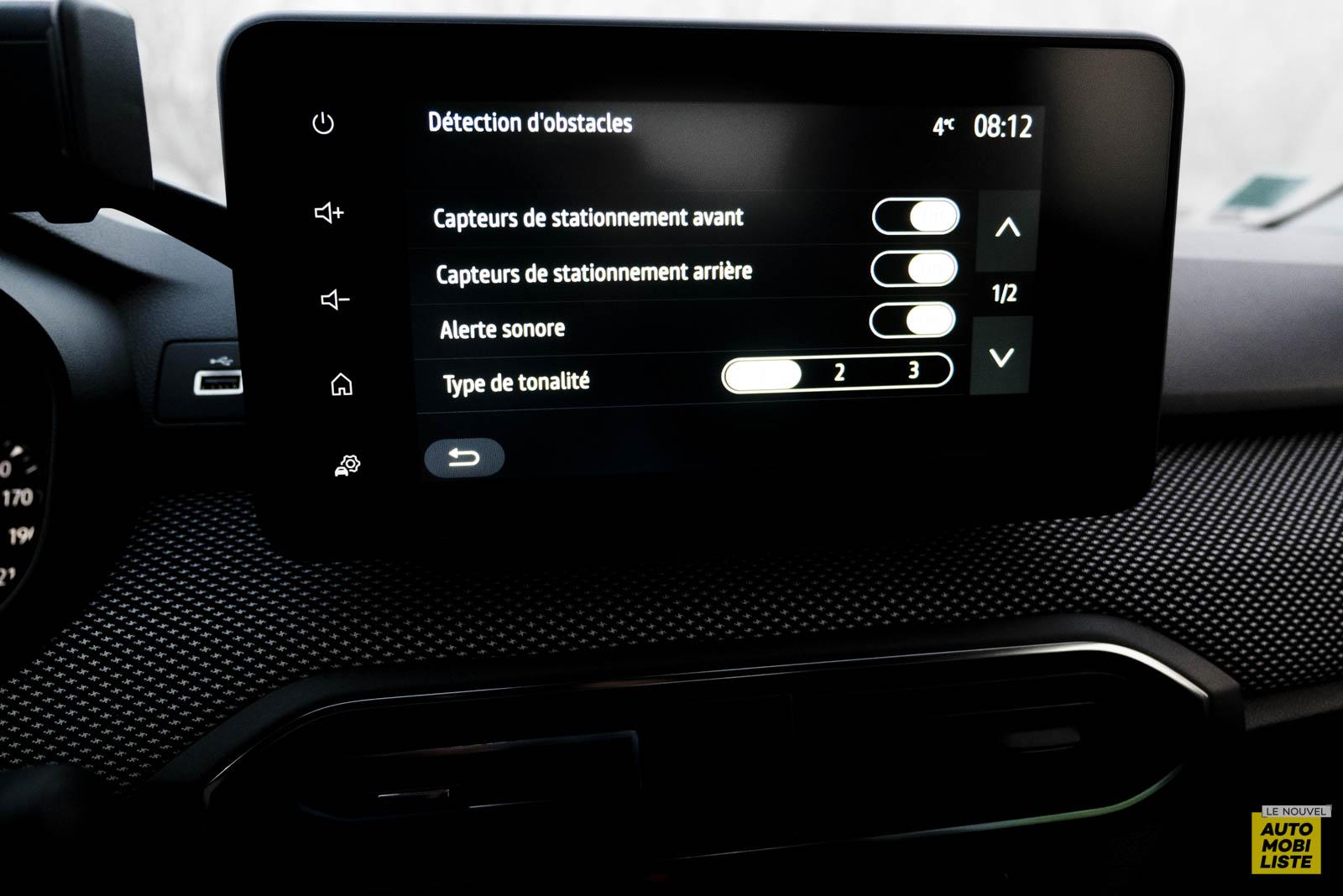 LNA 2011 Dacia Sandero TCe90 Comfort Ecran 005